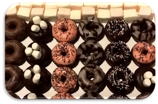 Mini Donuts de Chocolate