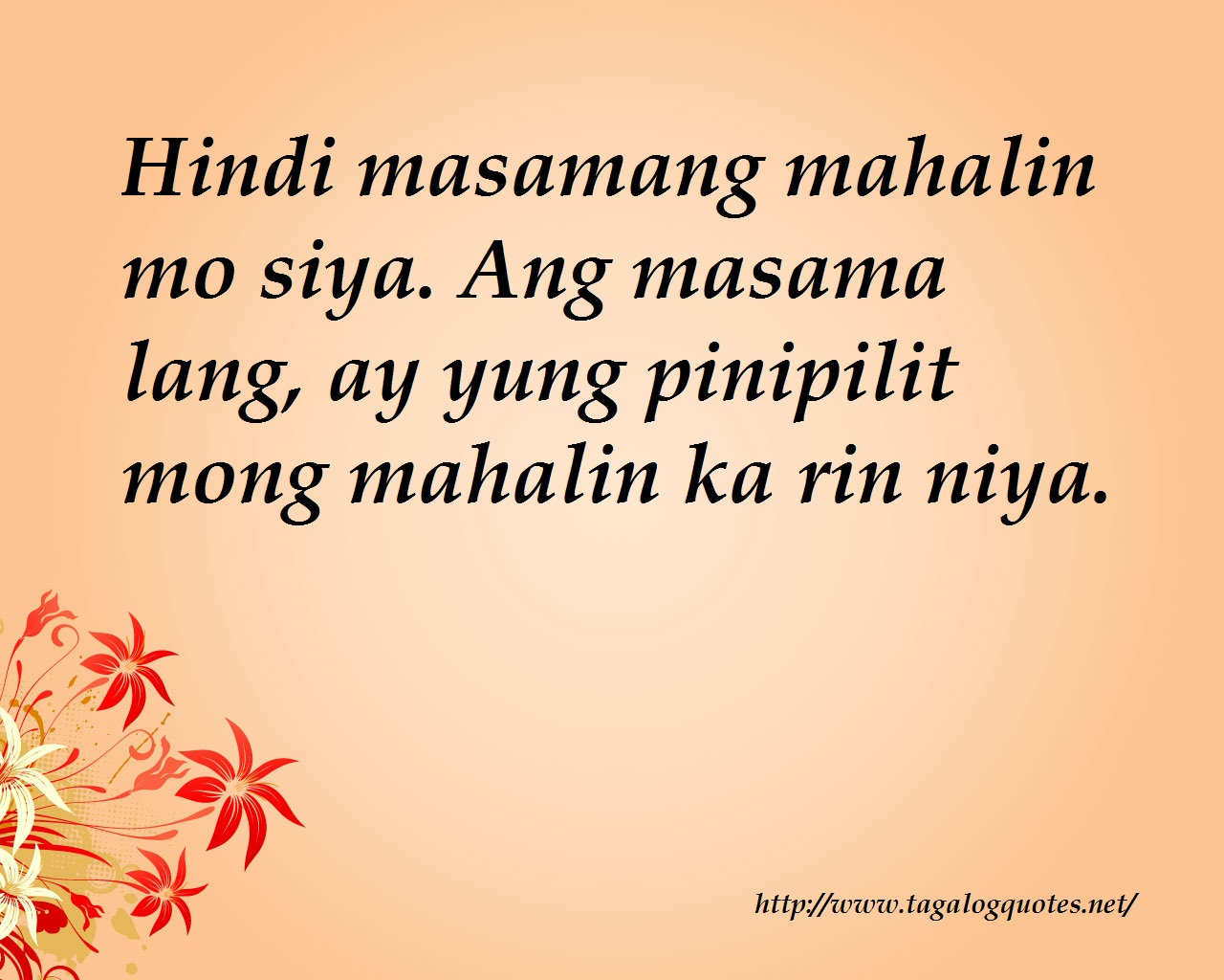 Simple Quotes About Friendship Tagalog : Tagalog love quotes images