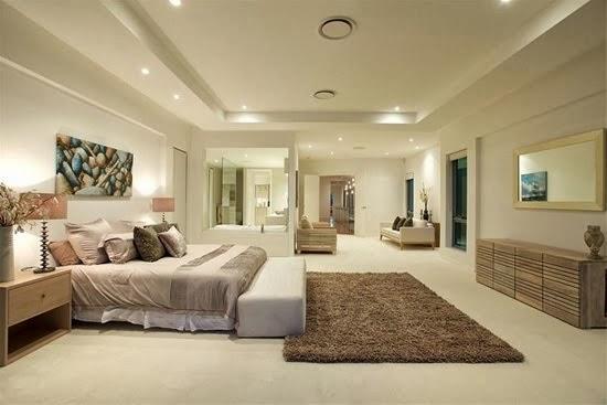 Decoraci n de cuartos dormitorios alcobas habitaciones - Iluminacion dormitorio moderno ...
