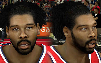 NBA 2K13 Nene Hilario Cyberface Patch