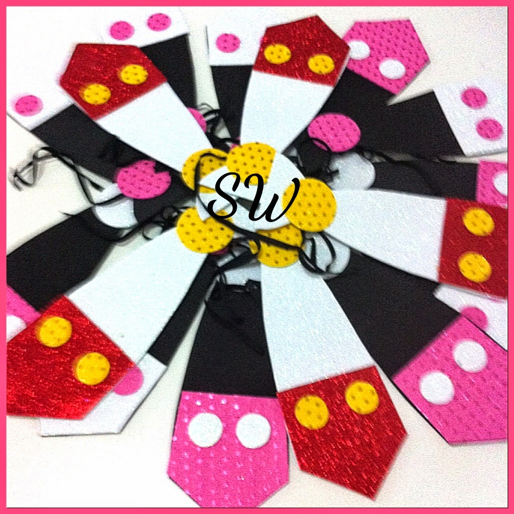 Sweetthingsbyoa sweetthingsbyoa mickey mouse - Adornos cumpleanos caseros ...