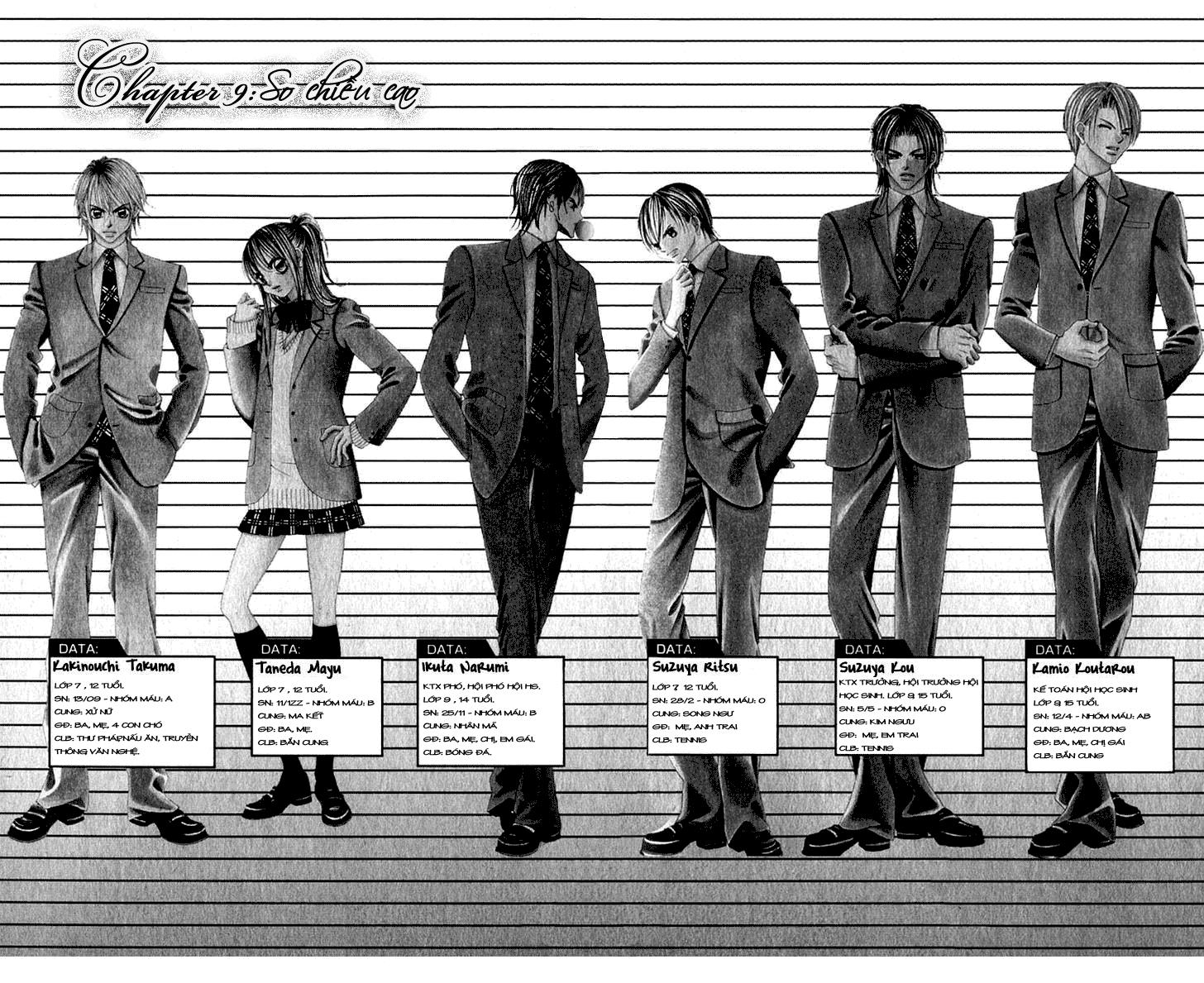 Boku no Hatsukoi wo Kimi ni Sasagu: Chapter 9