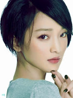 Zhou-xun-240x320-asian girls wallpapers
