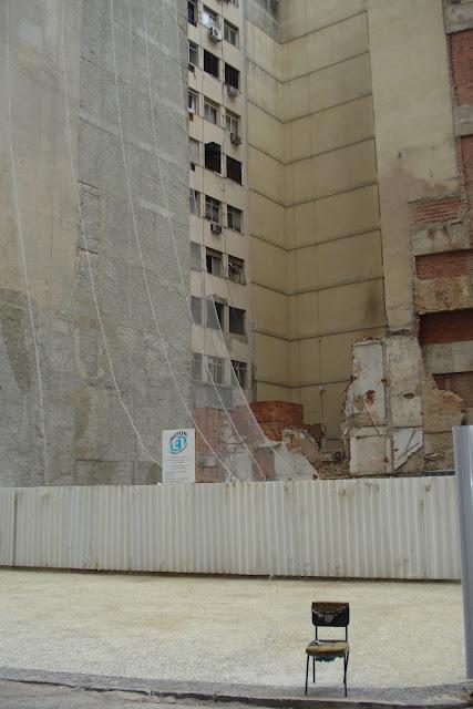 Desabamento no Centro do Rio/Foto: Marcelo Migliaccio