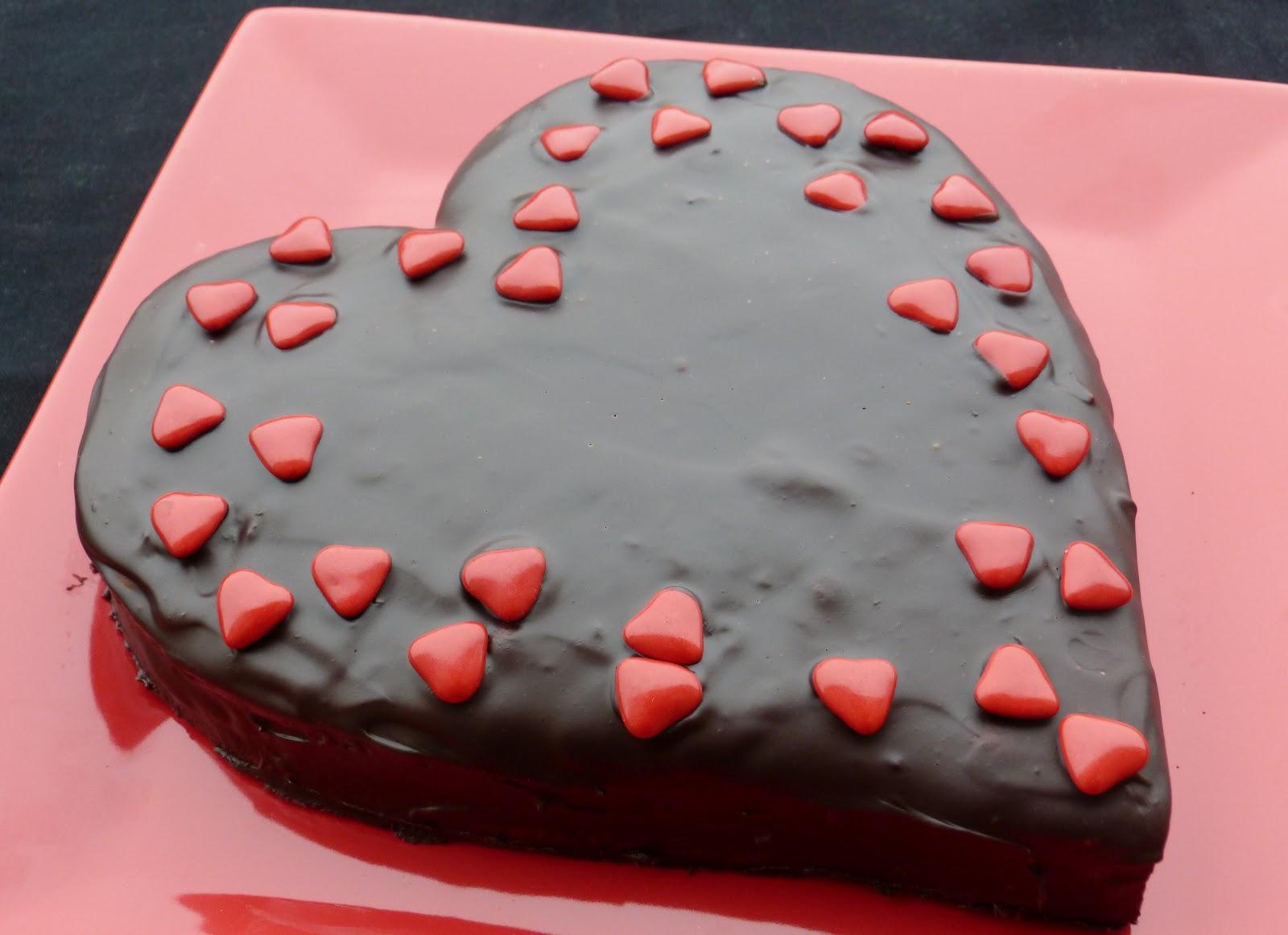 Chic chic chocolat coeur chocolat pour la saint valentin - Coeur pour la saint valentin ...