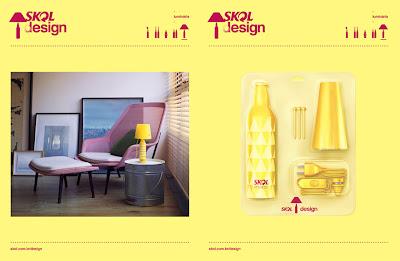 modelo garrafa decorativa da Skol