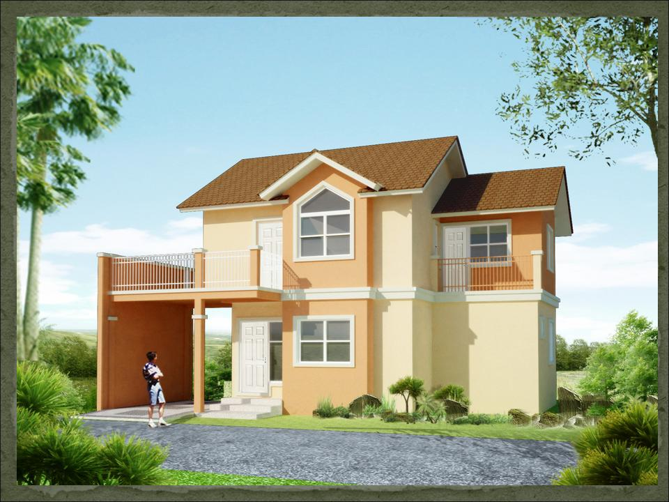 Small 2 storey house philippines joy studio design for Small house plans philippines