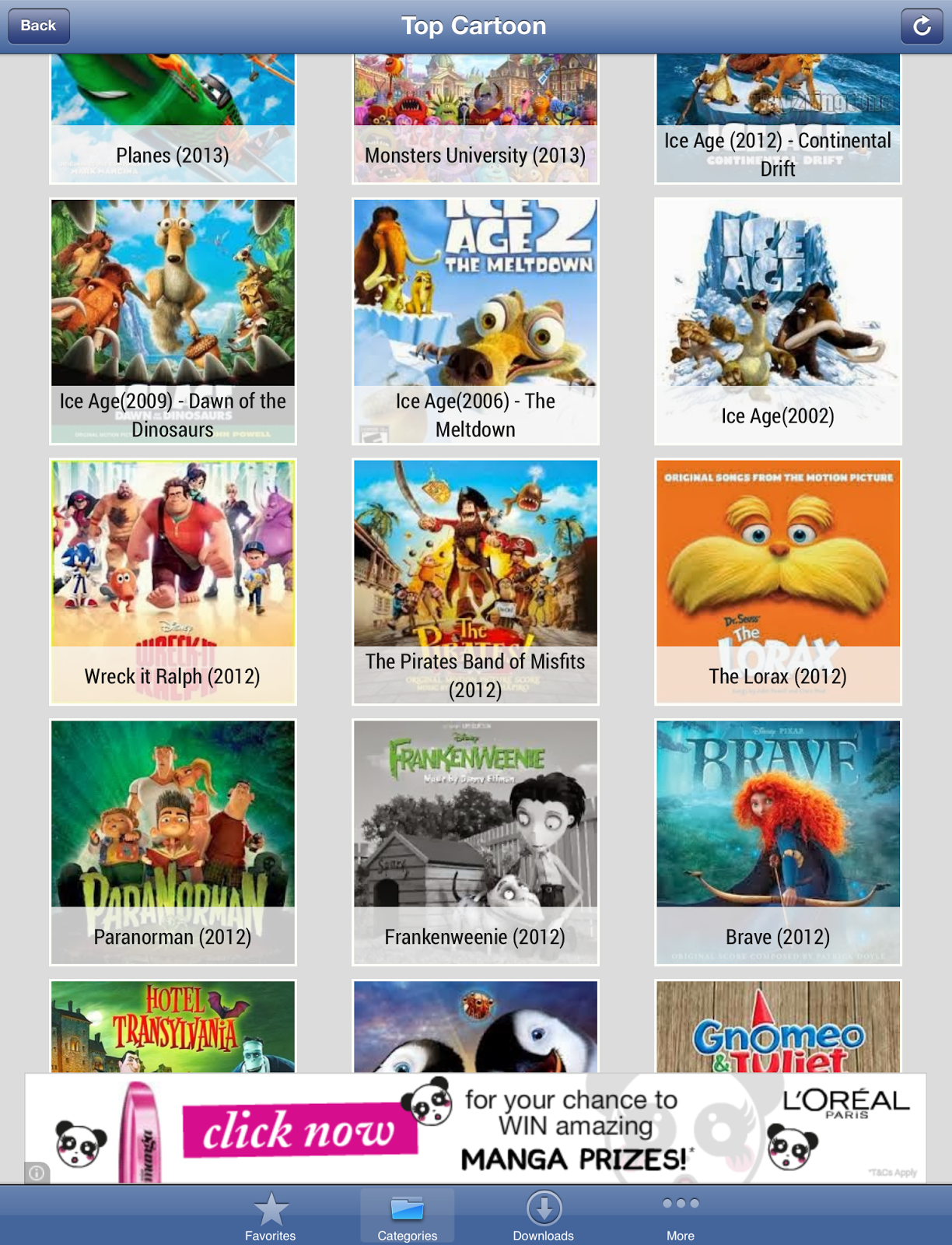Glitch giving you FREE films with Cartoon HD? - JustJulie