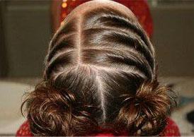 Los peinados para niña nos permiten ser muy creativas prácticamente
