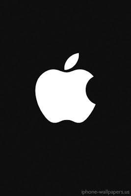 iPhone Apple Apple Black logo