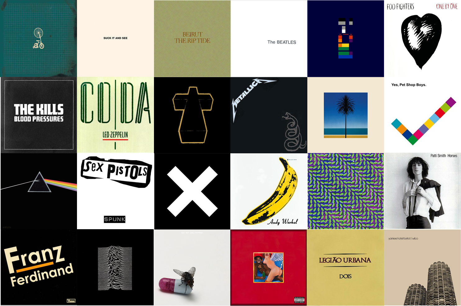 O minimalismo nas capas de discos quero falar sobre m sica for Minimalismo caracteristicas