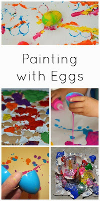 12 amazing ways to paint and create with eggs!