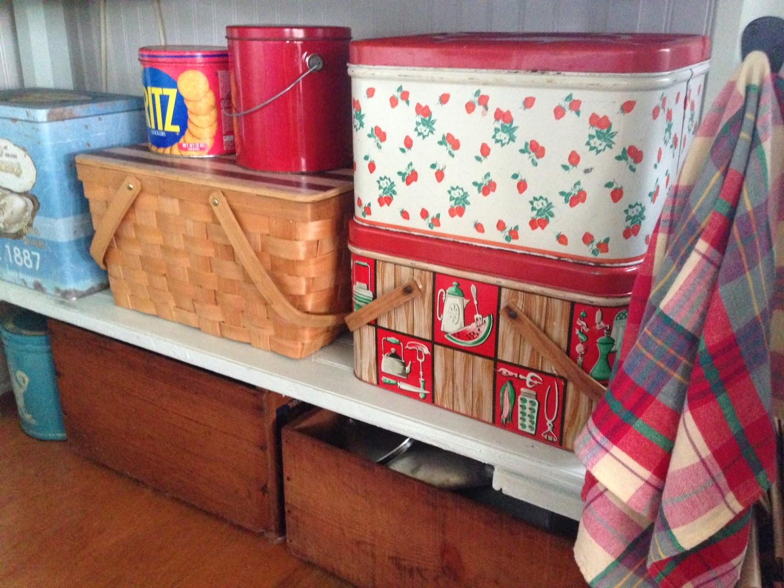 Wooden Bread Box Repurpose