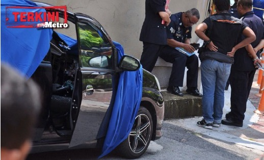 Pemandu maut dihempap lelaki jatuh dari bangunan hotel