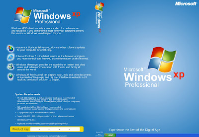 Os Windows XP Professional SP3 (x86) Integrated April 2013