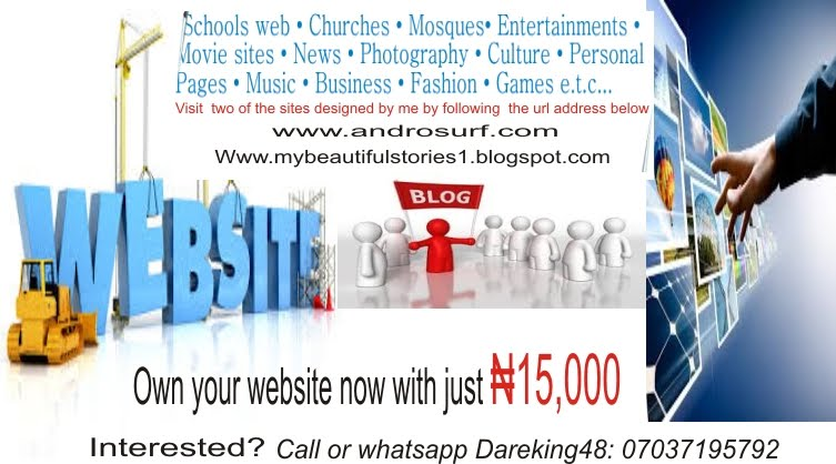 Own your website today!