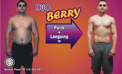 Suplemen Duo Berry Untuk Memutihkan dan Melangsingkan