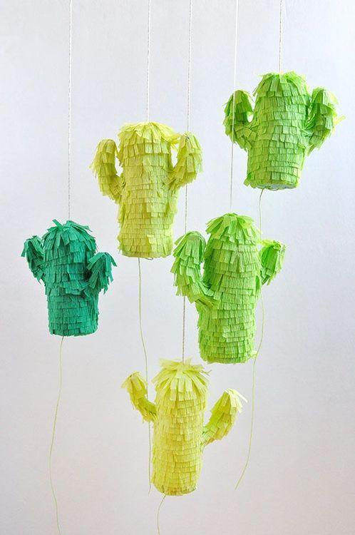 DIY kaktus pinatas