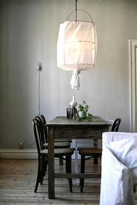luminaire facile en toile, DIY, fait main