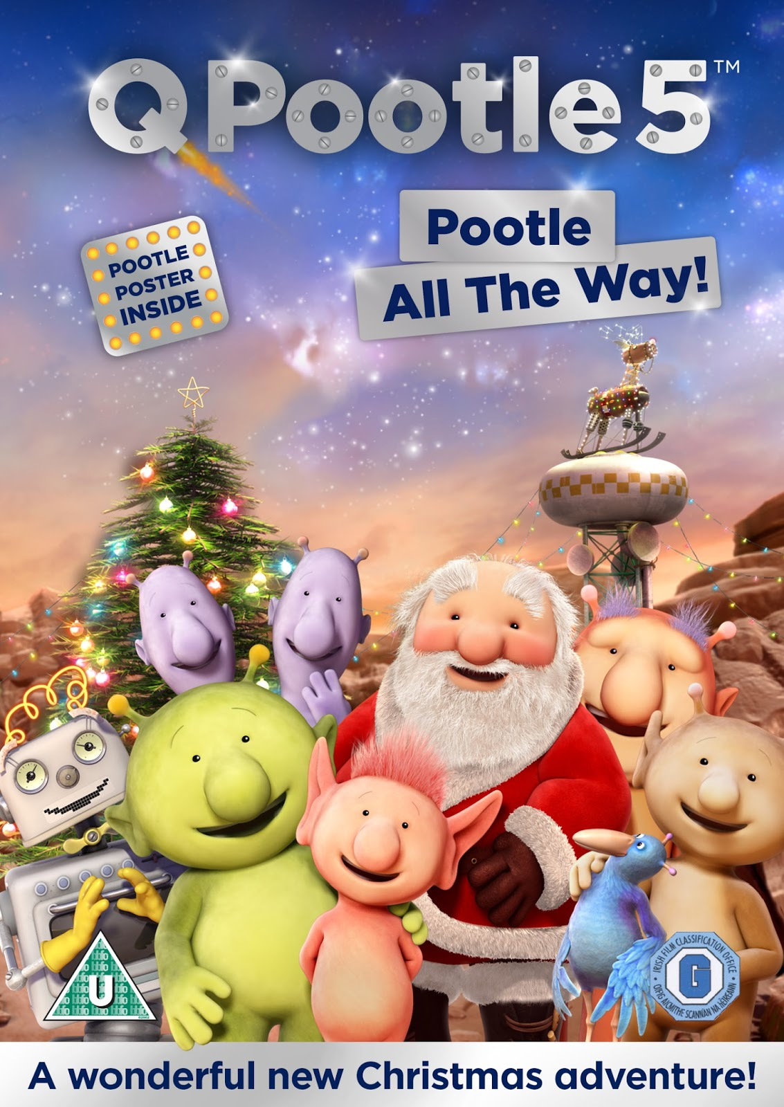 q pootle 5 christmas special dvd