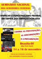 Seminário Nacional dos Servidores Federais