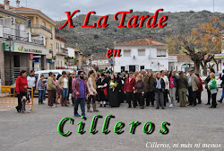 X LA TARDE EN CILLEROS