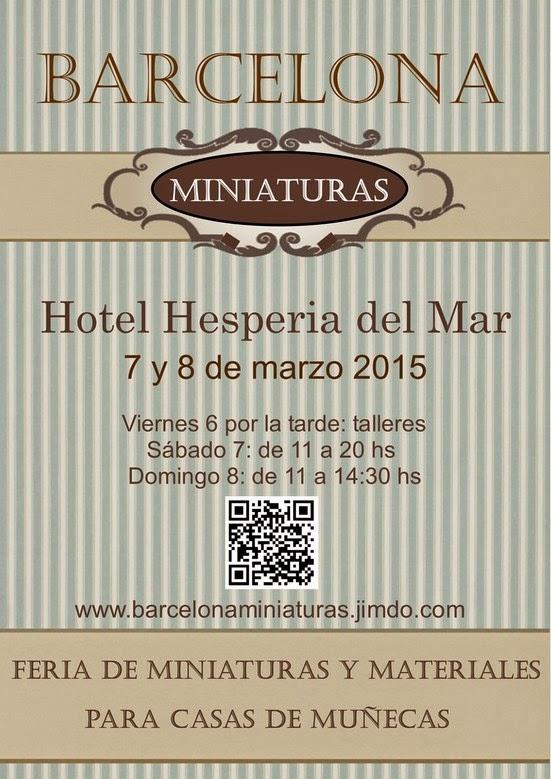 Feria Barcelona Miniaturas, segunda edición