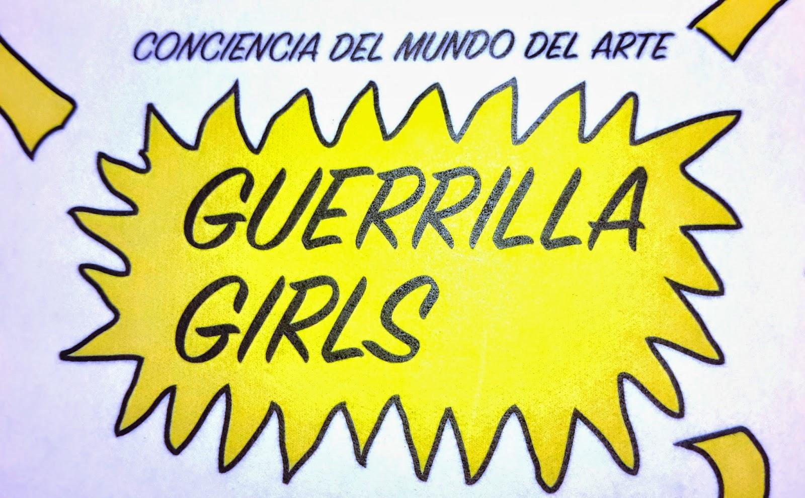 Guerrilla Girls, El Matadero, Exposiciones, temporales, Madrid, Feminismo, Performance, Arte contemporáneo, Grupo feminista, Coleccionistas, Mujeres, Artistas, Xabier Arakistain, Mujeres en las artes visuales, MAV,