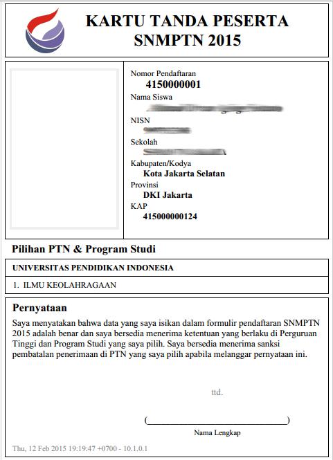 Persyaratan & Cara Daftar SNMPTN 2015