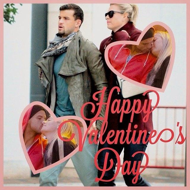 Maria Sharapova celebrates the Valentine's day 2014 with boyfriend, Grigor Dimitrov.