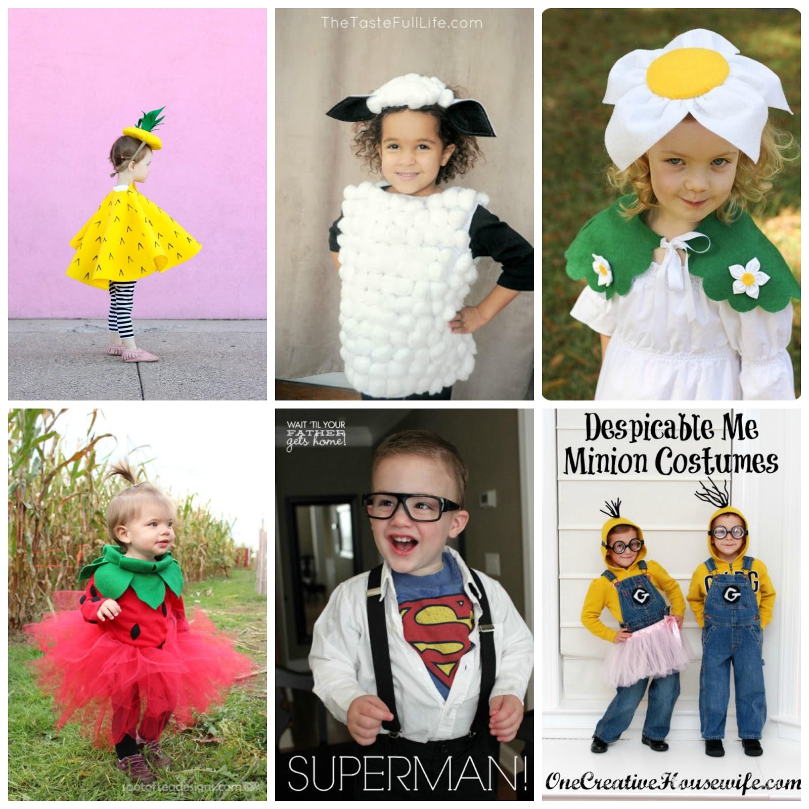 Favoloso Mamma Aiuta Mamma: Costumi di carnevale fai da te per bambini GH32