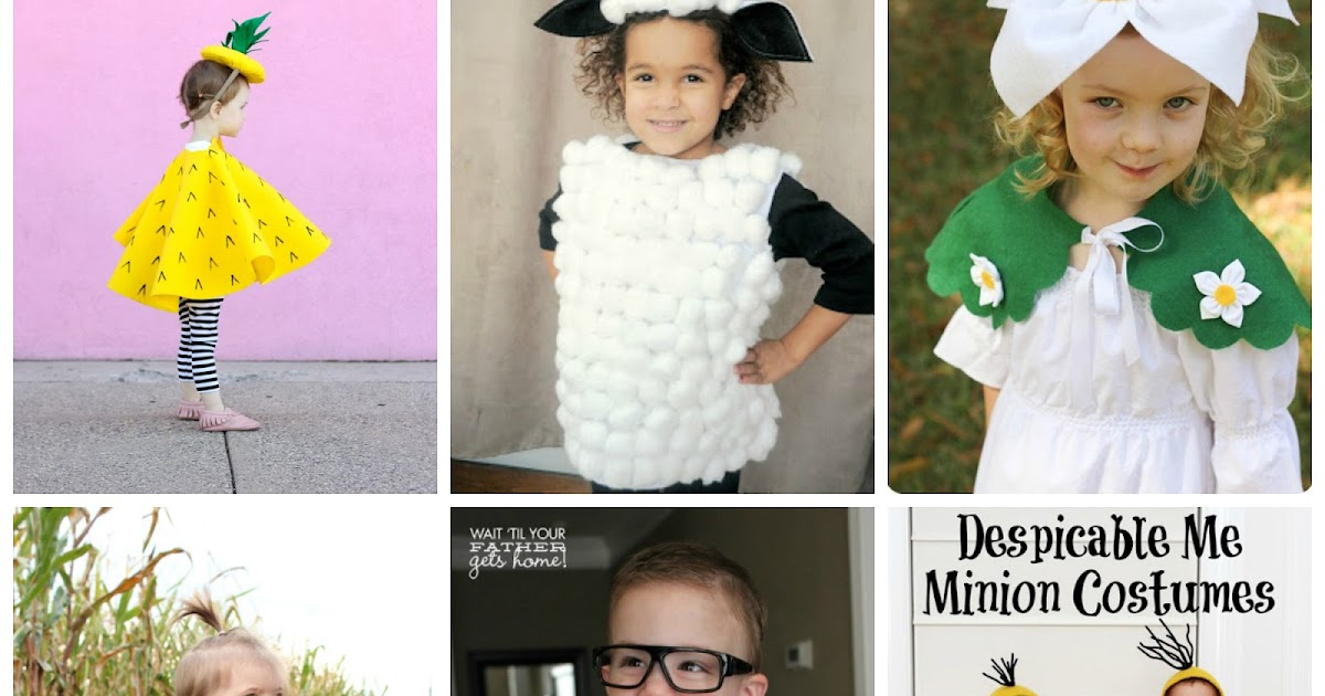 Molto Mamma Aiuta Mamma: Costumi di carnevale fai da te per bambini VU85