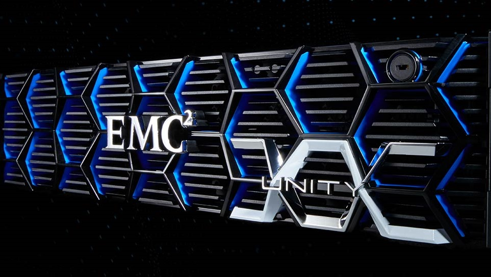 how to connect emc storage