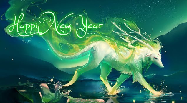 Happy New Year Meri Jaan Wallpaper