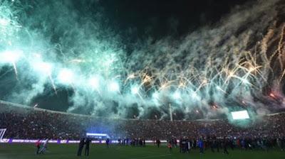 Selebrasi Kemenangan Chile pada Copa America 2015 www.guntara.com
