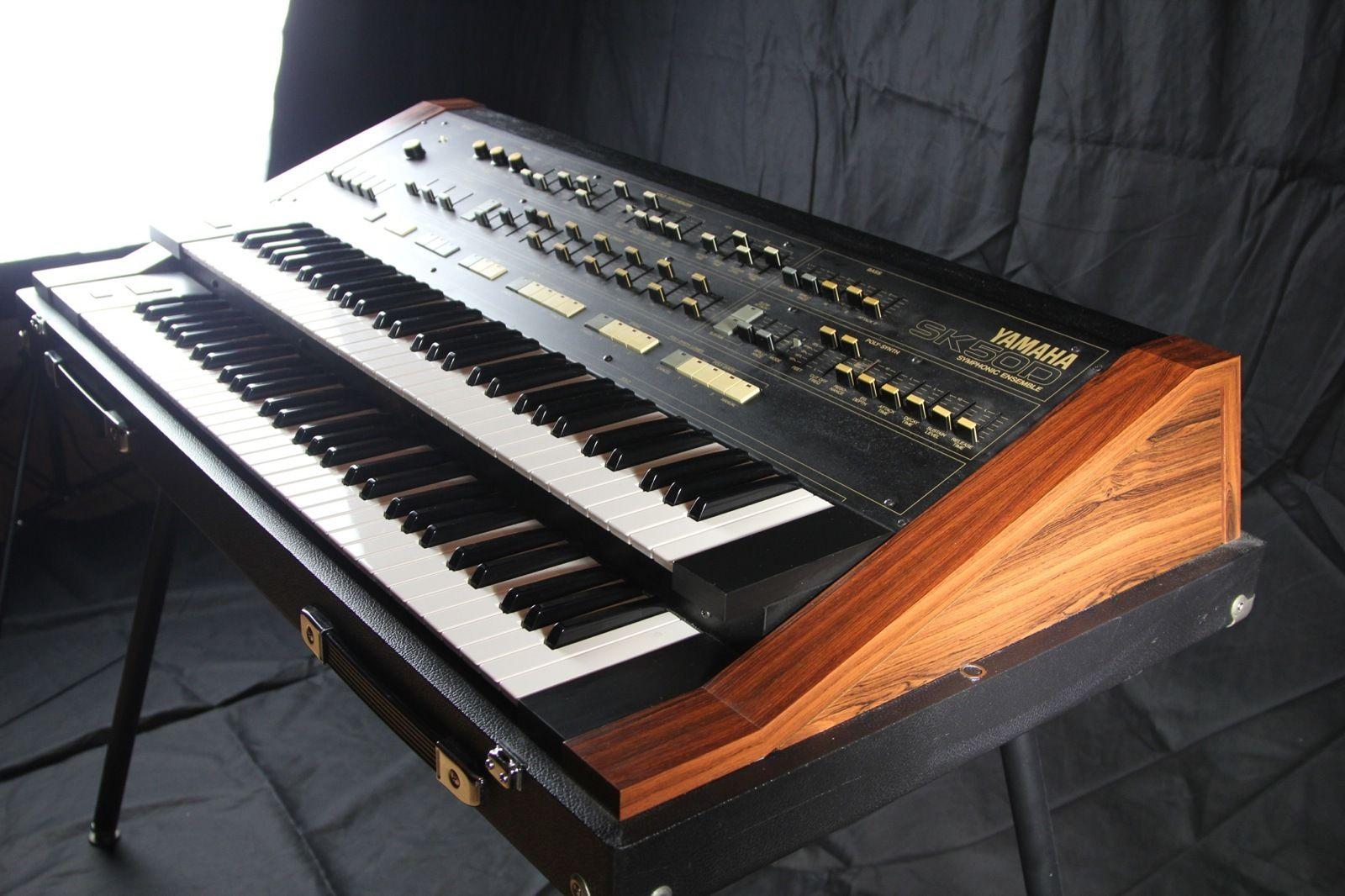 Matrixsynth yamaha sk50d sn 1337 for Yamaha keyboard synthesizer