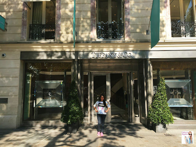 Tiffany & co, Paris, Parisian Adventures in October