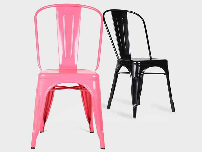 Cl sicos del dise o industrial la silla tolix una pieza for Sillas famosas diseno industrial