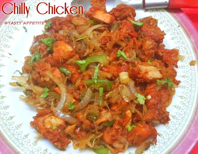 how to prepare chicken chilly