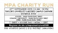 MPA Chairty Run 2015 - Subang Jaya