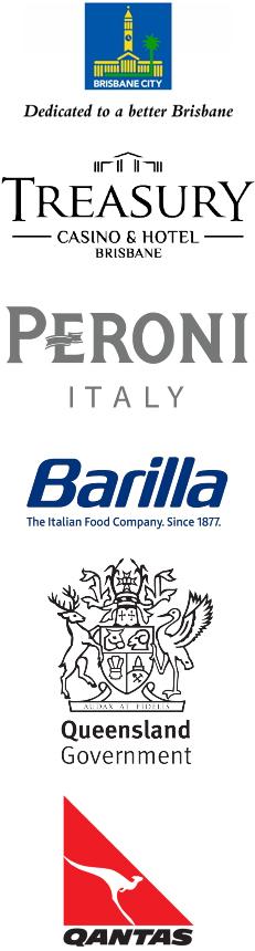 Italian Week Major Sponsors
