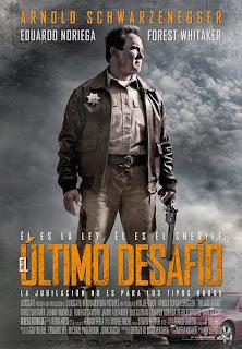 Póster español de El último desafío (The Last Stand)