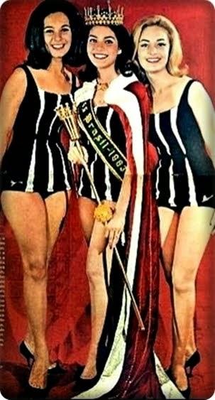 TOP TRES MISS BRASIL 1963