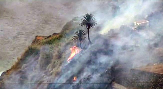 Incendio forestal angulo la gomera 18 agosto