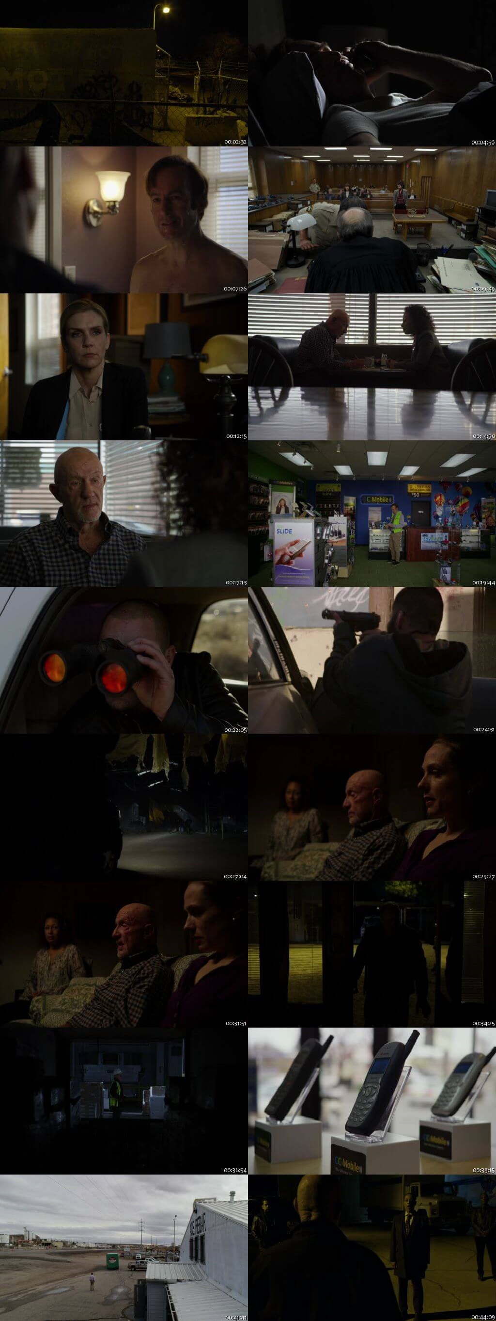 Screenshots Of English Show Better Call Saul Season 04 Episode 04 2018 WEB-DL 720P 300MB