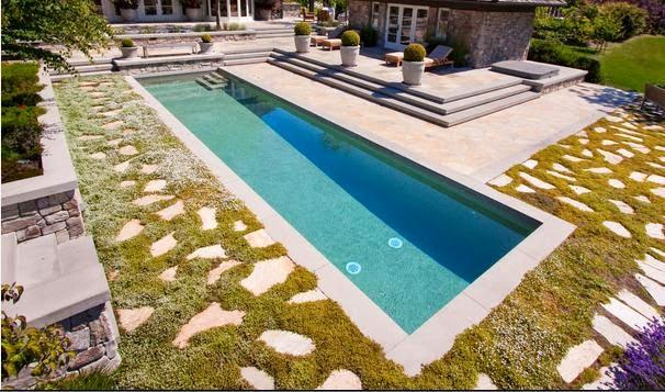 Fotos de piscinas piscinas angostas for W piscinas