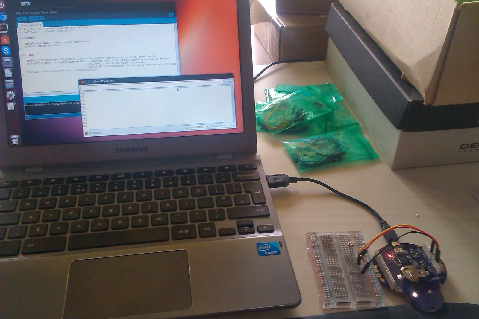 Arduino ide on chromebook via crouton lantau kilowatt