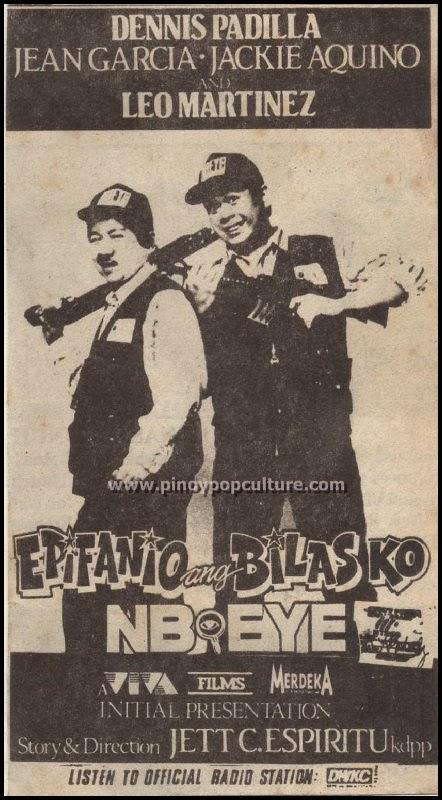 Leo Martinez, Dennis Padilla, Epifanio