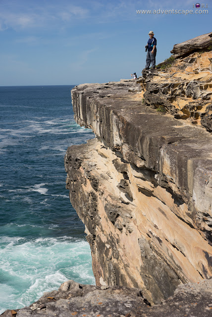 adventscape, attraction, Australia, Bundeena, coastal walk, iori, landscape, limestone, nature, New South Wales, NSW, Philip Avellana, places to visit, Royal National Park, tourism, Wedding Cake Rock, cliff, ledge, The Waterrun