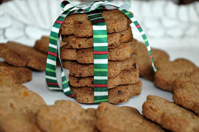 Adventné keksy zo sušených marhulí